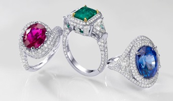 leibish gemstone rings